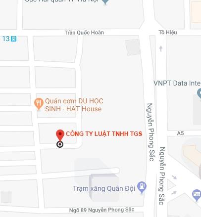 địa chỉ công ty luật tgs
