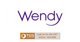 đăng kí nhãn hiệu wendy