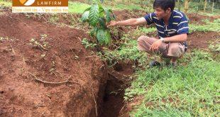 Mức bồi thường khi Nhà nước thu hồi đất bị sụt lún