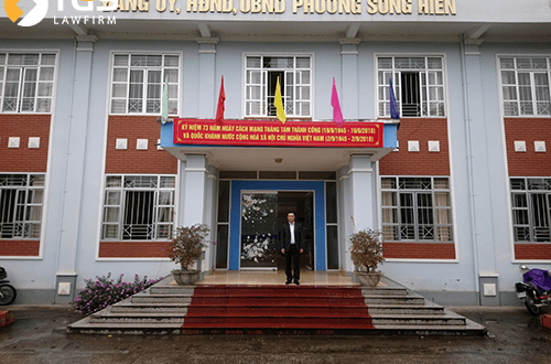 chuyến đi cong tác của luật sư TGS tại Cao Bằng