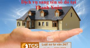 dich vu sang ten so do tai Thanh Xuan