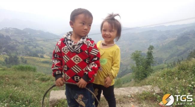 Học sinh trường tiểu học xã Pải Lủng, huyện Mèo Vạc, tỉnh Hà Giang