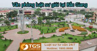 Văn phòng luật sư giỏi tại Bắc Giang