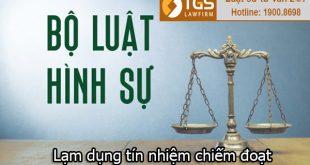 tội lạm dụng chiếm đoạt tài sản