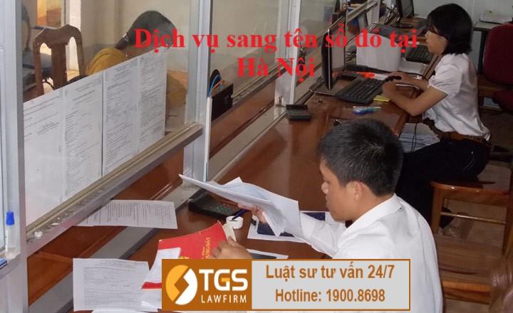 dịch vụ sang tên sổ đỏ tại Hà Nội 3