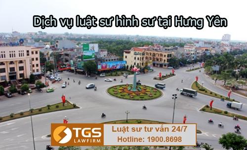 Dịch vụ luật sư hình sự tại Hưng Yên chuyên nghiệp
