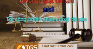 Phân biệt tội cướp giật tài sản với tội công nhiên chiếm đoạt tài sản
