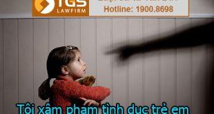 tội xâm hại tình dục trẻ em