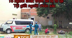 Tố người khác trộm xe, bị tố lại giết người chôn xác