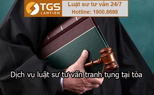 luật sư TGS tư vấn tranh tụng tại tòa
