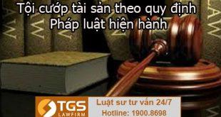 Tội cướp tài sản theo quy định pháp luật hiện hành