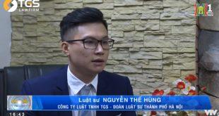 Trả lời phỏng vấn Đài truyền hình Hà Nội về việc cấm kinh doanh, sử dụng các loại hình bóng cười, cỏ mỹ,…