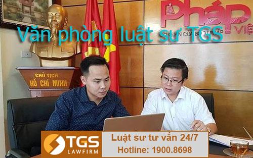 văn phòng luật sư Hà Nội TGS