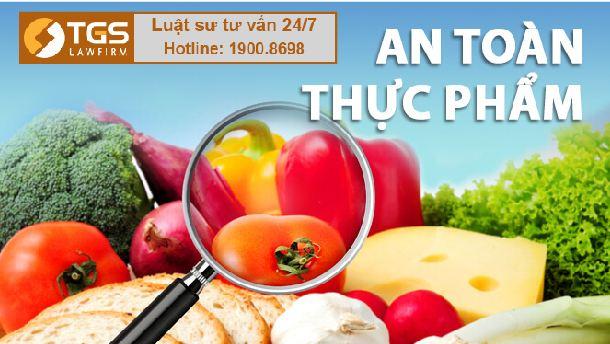 hồ sơ cấp giấy an toàn thực phẩm