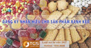 Thủ tục đăng ký nhãn hiệu cho sản phẩm bánh kẹo
