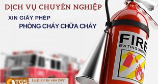 thủ tục xin cấp giấy phép phòng cháy chữa cháy