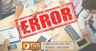 Các lỗi hay mắc phải khi làm thủ tục đăng ký nhãn hiệu ?