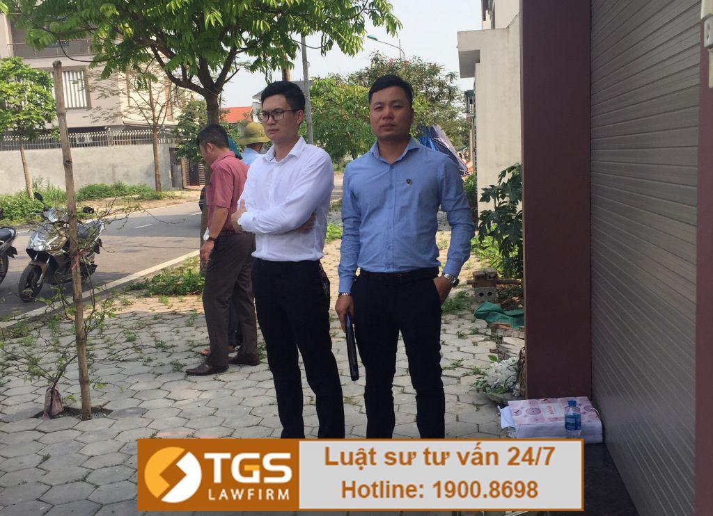 Luật sư TGS LAW tham gia thẩm định hiện trạng thu hồi đất tại tỉnh Hà Nam!