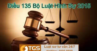 điều 135 bộ luật hình sự 2015