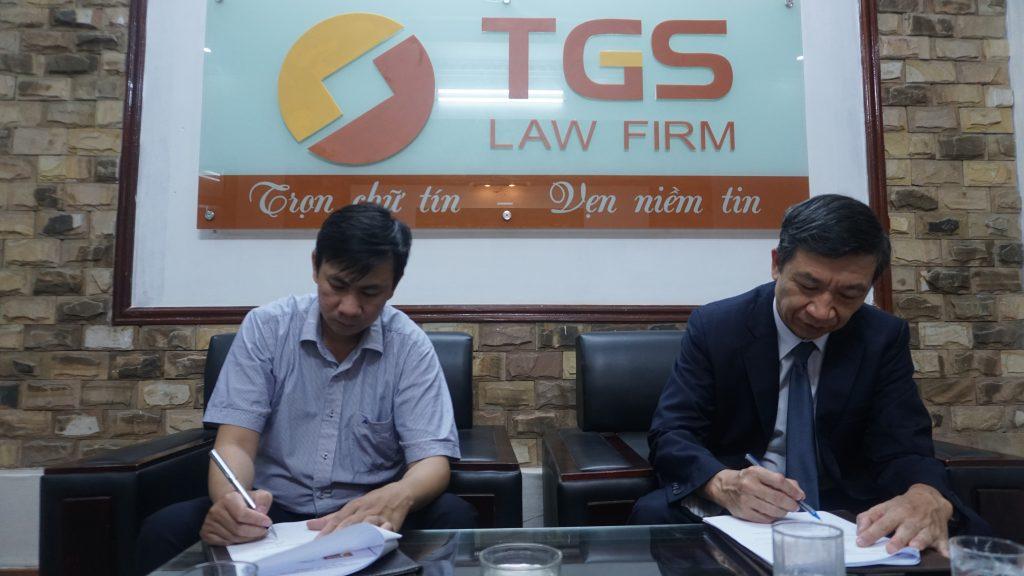 hợp tác chiến lược giữ công ty CP tập đoàn VP TECH và hãng luật TGS
