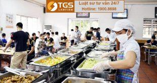 an toàn thực phẩm với bếp ăn tập thể
