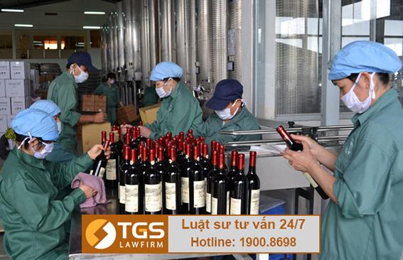 điều kiện kinh doanh sản xuất rượu