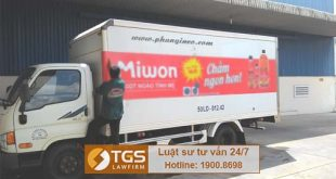 Cần làm gì để được quảng cáo logo của công ty trên xe chở hàng