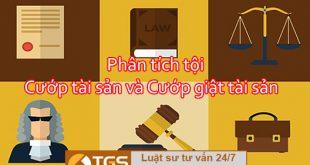 tội cướp tài sản và cướp giật tài sản