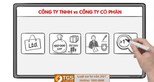 khác nhau giữa công ty TNHH và công ty cổ phần