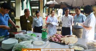 xử phạt vi phạm vệ sinh an toàn thực phẩm