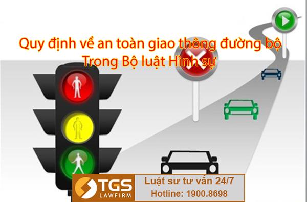 quy định về an toàn giao thông đường bộ