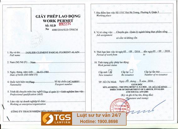 tư vấn giấy phép cho người nước ngoài tại Việt Nam