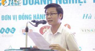 Luật sư Nguyễn Văn Tuấn phát biểu tại Gala Báo chí đồng hành cùng doanh nghiệp