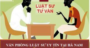 luật sư tư vấn pháp luật miễn phí tại Hà Nam