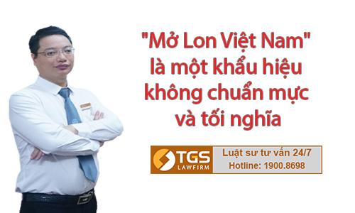 """Quan điểm của Luật sư về khẩu hiệu """"Mở Lon Việt Nam"""" của Coca - Cola"""