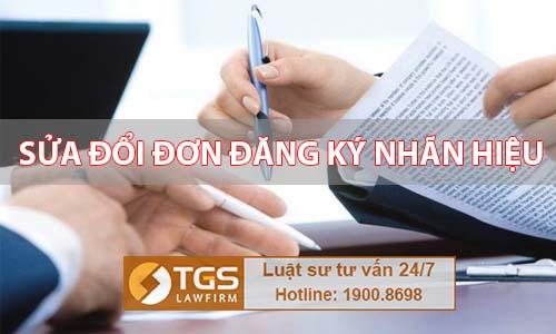Thủ tục sửa đổi đơn đăng ký nhãn hiệu