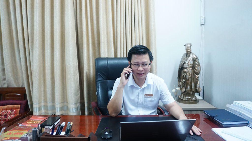 luật sư nguyễn văn tuấn trả lời phỏng vấn báo môi trường và đô thị