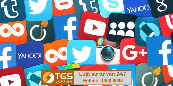 giấy phép mạng xã hội