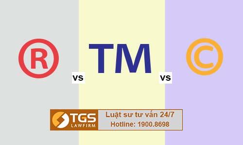 Phân biệt ký hiệu chữ R, TM, C trong sở hữu trí tuệ