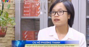 Trả lời đài truyền hình Việt Nam về Xây dựng và bảo về nhãn hiệu sản phẩm