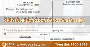 Chuyển nhượng đơn đăng ký nhãn hiệu