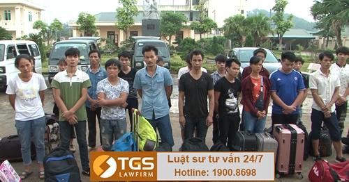 lao động nước ngoài bị trục xuất