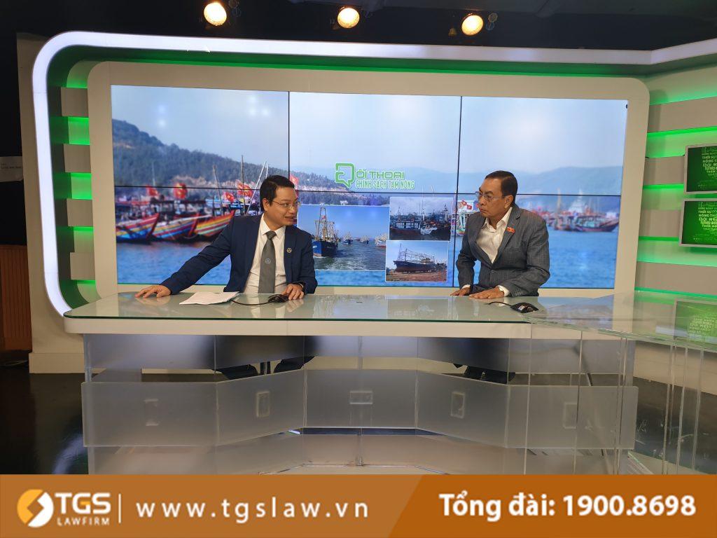 Luật sư Nguyễn Đức Hùng tham gia tọa đàm về vướng mắc trong việc thực hiện chính sách phát triển thủy sản