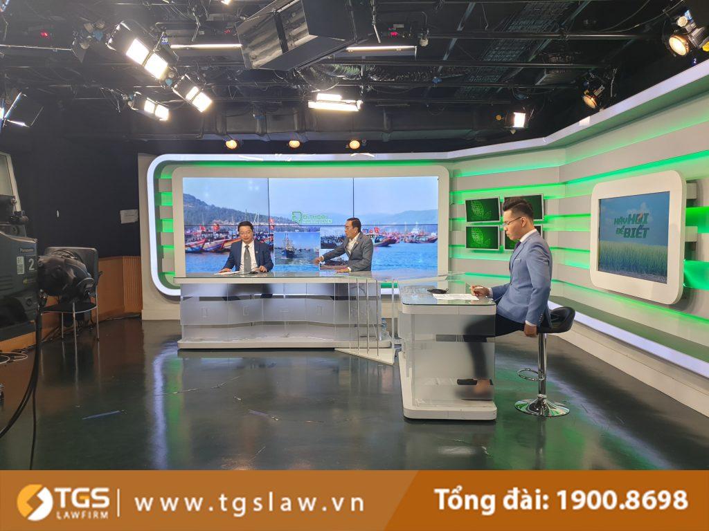 Luật sư Nguyễn Đức Hùng tham gia tọa đàm về những vướng mắc trong việc thực hiện chính sách phát triển thủy sản