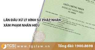 Lần đầu tiên xử lý HÌNH SỰ pháp nhân xâm phạm nhãn hiệu tại Phú Thọ