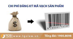 Chi phí đăng ký mã vạch sản phẩm