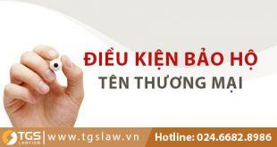Điều kiện bảo hộ tên thương mại