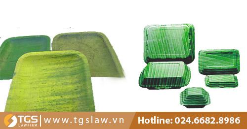 Sử dụng lá chuối làm khay, hộp, thay thế hộp nhựa và quyền sở hữu trí tuệ của VIBALE
